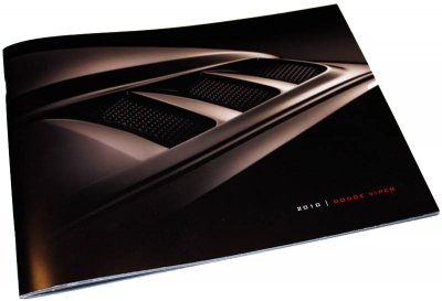 VOI 11 Collectible 2010 Viper Brochure