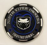 VOI 9 Viper Special Edition Badge - RARE!