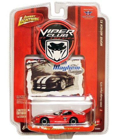 Johnny Lightning VCA Diecast 2000 Viper GTS