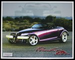 Limited Edition 1997 Plymouth Prowler Lithograph
