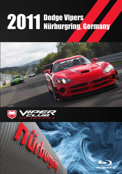 Dodge Viper 2011 Nurburgring Record Blu-ray Video