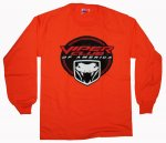 Viper Club of America Long Sleeve Shirt in Orange