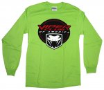 Viper Club of America Long Sleeve Shirt in Green